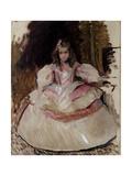 María Figuero, the Girl, Dressed as a Menina, 1901 Giclee Print by Joaquín Sorolla y Bastida