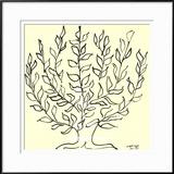 O arbusto Posters por Henri Matisse