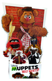 Disney's Muppets Most Wanted - 3D Fozzy Bear and Gang Lifesize Standup Cardboard Cutouts