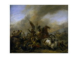 Refriega Entre Tropas Enemigas, 1648-1649 Giclee Print by Philips Wouwerman