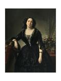 María Dolores De Alfonso Y Aldama, Marchioness of Montelo, 1855 Giclee Print by Federico De madrazo