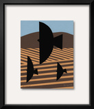 Cultivate with Three Birds Posters by Jerry Kott