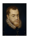 Philip II of Spain Giclee Print by Lucas De Heere