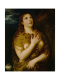 Penitent Madalene, C. 1533 Giclee Print by  Titian (Tiziano Vecelli)