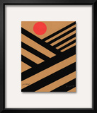 Cultivate with Red Sun Posters by Jerry Kott