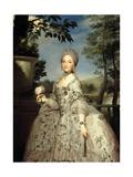 María Luisa of Parma, Princess of Asturias, Ca. 1765 Giclee Print by Anton Raphael Mengs