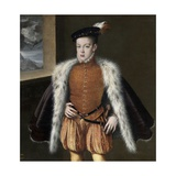 Prince Carlos, 1555-1559 Giclee Print by Alonso Sanchez Coello
