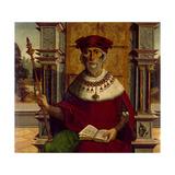 Ezekiel, Ca. 1525 Giclee Print by  Maestro De Becerril