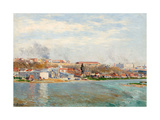 The Manzanares, 1908 Giclee Print by Aureliano De Beruete