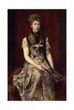 Portrait of Dora Von Makart Giclee Print by Hans Makart