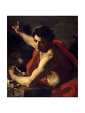 Saint John the Baptist, Ca. 1730 Giclee Print by Francesco Solimena