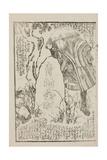 Utagailustración De La Novela De Tamegawa Shunsui Jidai Kagami (La Era Del Espejo), 1865 Giclee Print by Wakasaya Yoichi