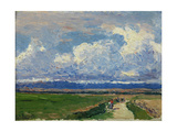 Landscape, Ca. 1910 Giclee Print by Aureliano De Beruete