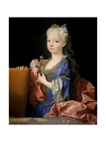 Maria Ana Victoria of Borbon, 1725 Giclee Print by Jean Ranc