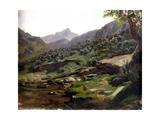 Picos De Europa, Ca. 1874 Giclee Print by Carlos de Haes