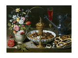 Table, 1611 Giclee Print by Clara Peeters