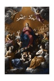 Assumption and Coronation of the Virgin, 1602-1603 Giclee Print by Guido Reni