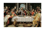 The Last Supper, Ca. 1562 Giclee Print by Juan De juanes