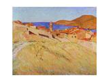 Landscape Near Collioure, 1866-1867 Giclee Print by Georges-Daniel De Monfreid