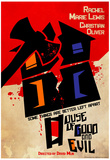 House of Good & Evil Retro Poster