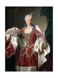 Isabel De Farnesio, 1723 Giclee Print by Jean Ranc