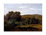 Grove (Monasterio De Piedra), Ca. 1856 Giclee Print by Carlos de Haes