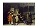 Prision Del Principe Carlos De Viana Giclee Print by Emilio Sala