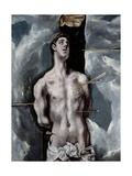 Saint Sebastian, 1610-1614 Giclee Print by  El Greco