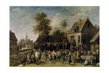 Country Celebration, 1647 Giclee Print by David Teniers the Younger
