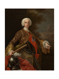 Charles of Bourbon, King of the Two Sicilies, Ca. 1745 Giclee Print by Giuseppe Bonito
