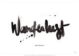Wanderlust Poster autor Antoine Tesquier Tedeschi