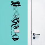 Water Power Vinilo decorativo