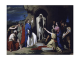 The Resurrection of Lazarus Giclee Print by Jose Casado Del Alisal