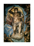 The Last Judgment (Detail) Giclee Print by  Michelangelo