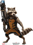 Marvel Guardians of the Galaxy - Rocket Raccoon Lifesize Standup Poster Cardboard Cutouts