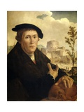 A Humanist, Ca. 1525 Giclee Print by Jan van Scorel