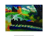 Eisenbahn bei Murnau Posters by Wassily Kandinsky