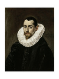 A Nobleman, 1600-1605 Giclee Print by El Greco