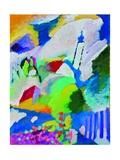 Murnau mit Kirche I Prints by Wassily Kandinsky