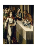 The Presentation of Jesus at the Temple, 1560-1568 Giclee Print by Luis De Morales