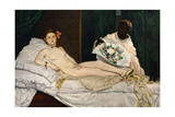 Olympia, 1863 Giclee Print by Édouard Manet