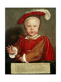Edward Vi as a Child, C. 1538 Giclee Print by Hans Holbein the Elder