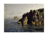Rocas de Santa Catalina (Lequeitio), ca. 1872 Giclee Print by Carlos de Haes