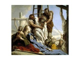 The Descent from the Cross, 1772 Giclee Print by Giovanni Domenico Tiepolo