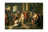 Susannah Accused of Adultery, 1695-1696 Giclee Print by Antoine Coypel