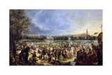 La Feria De Sevilla, 1847 Giclee Print by Andres Cortes