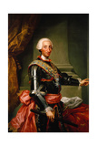 Charles III of Spain, C. 1761 Giclee Print by Anton Raphael Mengs