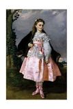 The Countess of Santovenia, 1871 Giclee Print by Eduardo Rosales