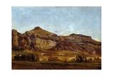 Despeñaperros, ca. 1862 Giclee Print by Carlos de Haes
