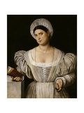 Portrait of a Woman, 1525-1530 Giclee Print by Bernardino Licinio